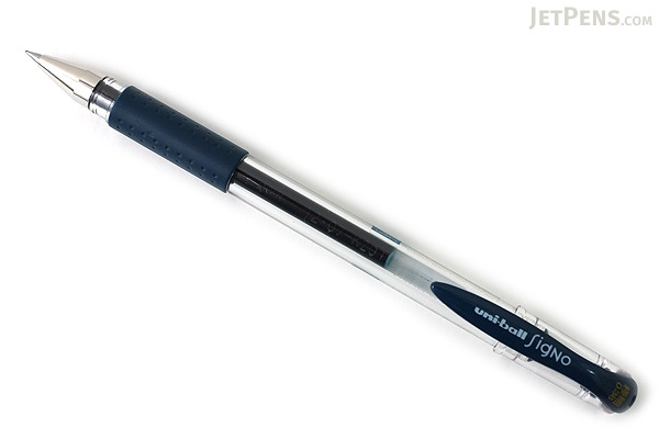 Uni-ball Signo UM-151 Gel Pen - 0.38 mm - Blue Black - UNI UM151.64
