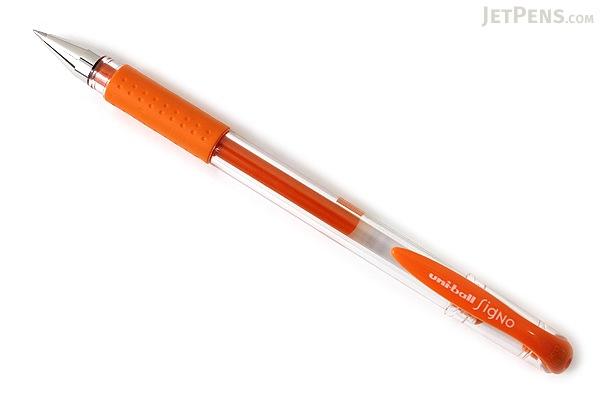 Uni-ball Signo UM-151 Gel Pen - 0.38 mm - Orange - UNI UM151.4