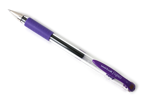 Uni-ball Signo UM-151 Gel Pen - 0.38 mm - Violet - UNI UM151.12