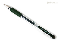 Uni-ball Signo UM-151 Gel Pen - 0.38 mm - Green Black - UNI UM151.7