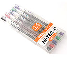 Pilot Hi-Tec-C Gel Ink Pen - 0.4 mm - Basic Colors - 5 Pen Gift Set