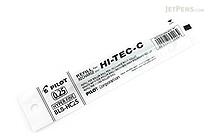 Pilot Hi-Tec-C Gel Pen Refill - 0.25 mm - Black - PILOT BLS-HC25-B