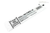 Pilot Hi-Tec-C Gel Pen Refill - 0.4 mm - Black - PILOT BLS-HC4-B