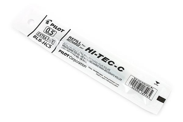 Pilot Hi-Tec-C Gel Pen Refill - 0.5 mm - Black - PILOT BLS-HC5-B