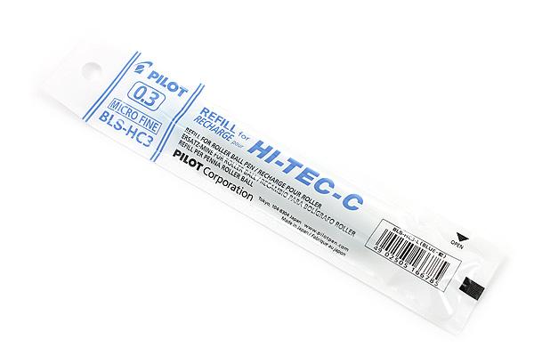 Pilot Hi-Tec-C Gel Pen Refill - 0.3 mm - Blue - PILOT BLS-HC3-L