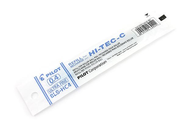 Pilot Hi-Tec-C Gel Pen Refill - 0.4 mm - Blue - PILOT BLS-HC4-L