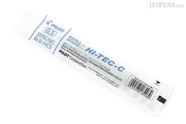 Pilot Hi-Tec-C Gel Pen Refill - 0.5 mm - Blue - PILOT BLS-HC5-L