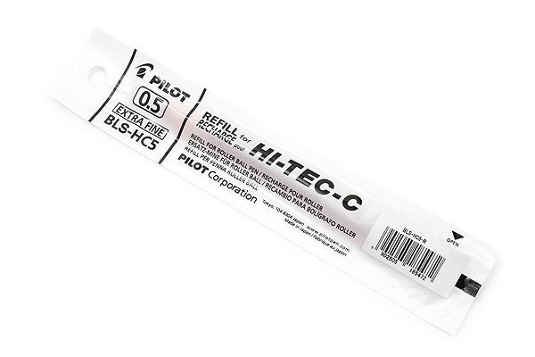 Pilot Hi-Tec-C Gel Pen Refill - 0.5 mm - Red - PILOT BLS-HC5-R