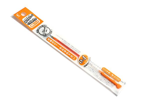 Pilot Hi-Tec-C Coleto Gel Multi Pen Refill - 0.4 mm - Orange - PILOT LHKRF-10C4-O