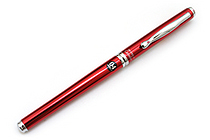 Pilot Hi-Tec-C Cavalier Executive Gel Ink Pen - 0.4 mm - Red Body - Black Ink - PILOT LCA-1SRC4-R