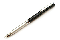 Ohto Tasche Fountain Pen - Black - Fine Nib - OHTO FF-10T BLACK