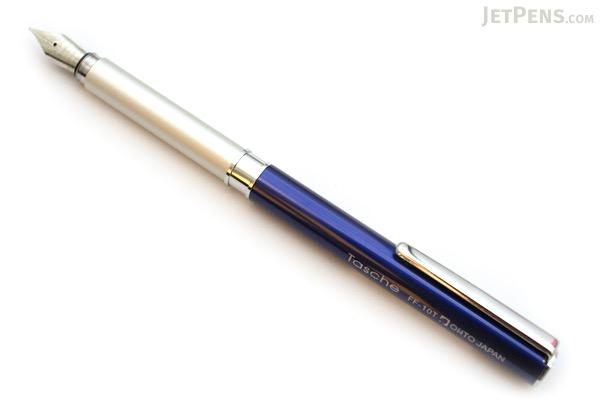 Ohto Tasche Fountain Pen - Blue - Fine Nib - OHTO FF-10T BLUE