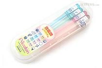 Zebra Pticolon Gel Ink Pen - 0.8 mm - 8 Color Set - ZEBRA JJ6-8C