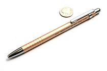 Ohto Needle-Point Cute Ballpoint Pen - 0.7 mm - Orange Body - OHTO NBP-350C ORANGE