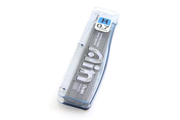Pentel Hi-Polymer Ain Pencil Lead - 0.7 mm - H - PENTEL C257-H