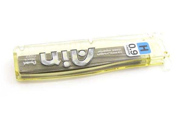 Pentel Hi-Polymer Ain Pencil Lead - 0.9 mm - H - PENTEL C259-H