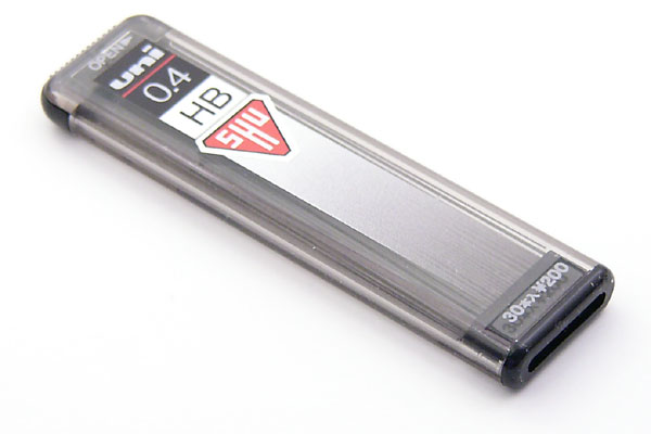 Uni Shu Pencil Lead - 0.4 mm - HB - UNI U04201HB