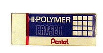 Pentel Hi-Polymer Eraser - Large - PENTEL ZEH10