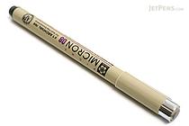 Sakura Pigma Micron Pen - Size 08 - 0.5 mm - Black - SAKURA XSDK08-49