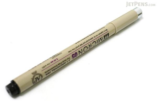 Sakura Pigma Micron Pen - Size 05 - 0.45 mm - Black - SAKURA XSDK05-49