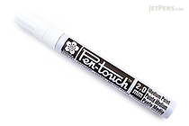 Sakura Pen-Touch Paint Marker - Medium Point 2.0 mm - White - SAKURA 42500