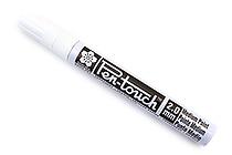 Sakura Pen-Touch Paint Marker - Medium Point 2.0 mm - White - SAKURA 42500