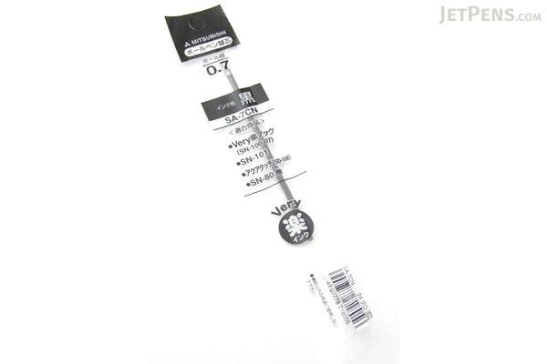Uni SA-7CN Ballpoint Pen Refill - 0.7 mm - Black - UNI SA7CN.24