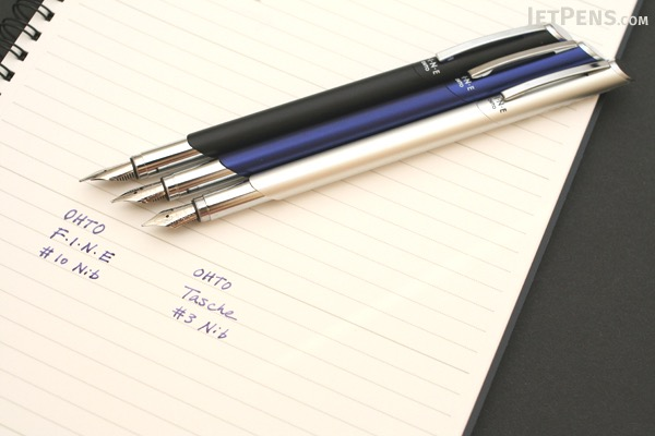 Ohto Fine Fountain Pen - Fine Nib - Black Body - OHTO FF-10N BLACK