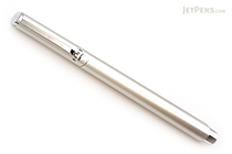 Ohto Fine Fountain Pen - Silver - Fine Nib - OHTO FF-10N SILVER