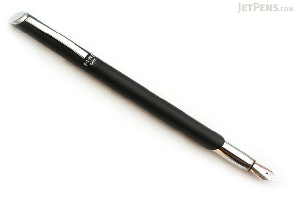Ohto Fine Fountain Pen - Fine Nib - Black Body - OHTO FF-10N BLACK