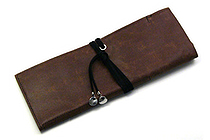 PlePle Choco Wrap Pencil Case - Blueberry Blue Color Tie - PLEPLE CHOCO BLUEBERRY