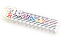 Uni Color Pencil Lead Variety Pack - 0.5 mm - UNI 0.5-255C MIX