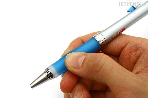 Uni Alpha Gel Slim Ballpoint Pen - 0.7 mm - Royal Blue Grip - UNI SD807GG1P.40