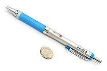 Uni Alpha Gel Slim Ballpoint Pen - 0.7 mm - Royal Blue Grip - UNI SD807GG1P.40
