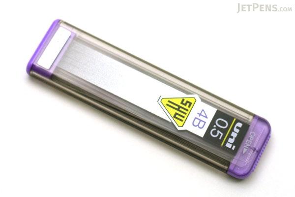 Uni Shu Pencil Lead - 0.5 mm - 4B - UNI 05-201-4B