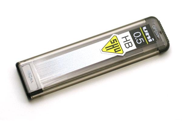 Uni Shu Pencil Lead - 0.5 mm - HB - UNI 05-201-HB