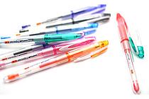 Uni-ball Signo Bit UM-201 Gel Ink Pen - 0.28 mm - 8 Color Set - UNI UM-201-28 8C