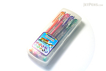 Uni-ball Signo Erasable Gel Ink Pen - 0.8 mm - 8 Color Set - UNI UM101ER 8C