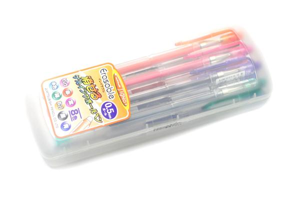Uni-ball Signo Erasable Gel Pen - 0.5 mm - 8 Color Set - UNI UM101ER058C