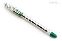 Pentel RSVP Ballpoint Pen - 0.5 mm Fine Point - Green Ink - PENTEL BK90-D