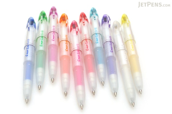 Pilot Latte Gel Ink Pen - 0.5 mm - Pastel Color Series - Blue - PILOT LLA-12EF-PL