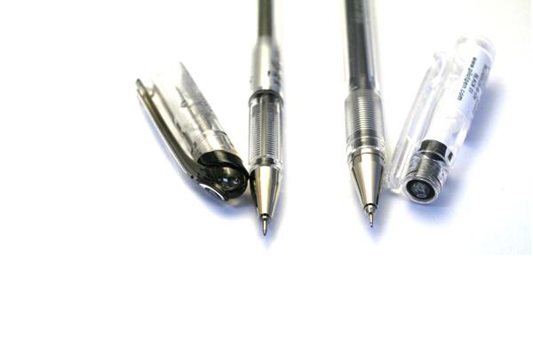 Pentel Slicci Gel Pen - 0.25 mm - Black Ink - PENTEL BG202-A