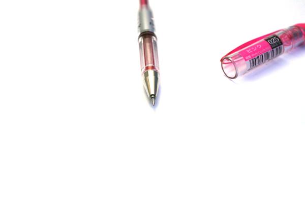 Pentel Slicci Gel Ink Pen - 0.25 mm - Pink Ink - PENTEL BG202-P1
