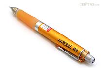 Uni Alpha Gel HD Pencil - Colored Body Series - 0.5 mm - Orange Grip - UNI M5-608GG 1P .4