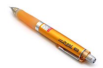 Uni Alpha Gel HD Pencil - Colored Body Series - 0.5 mm - Orange Grip - UNI M5-608GG 1P .4