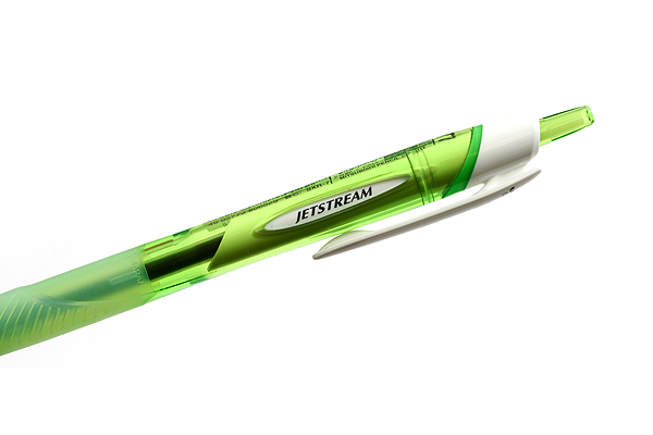 Uni Jetstream Standard Ballpoint Pen - 0.7 mm - Black Ink - Green Body - UNI SXN15007.6