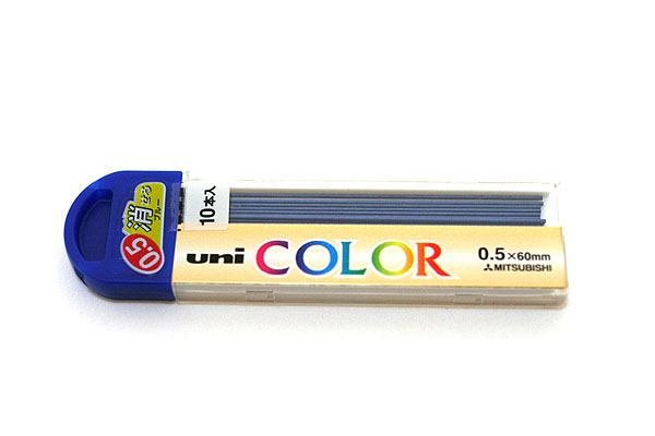 Uni Color Pencil Lead - 0.5 mm - Blue - UNI U05205C.33
