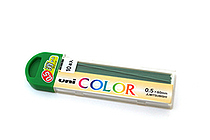 Uni Color Pencil Lead - 0.5 mm - Green - UNI U05205C.6