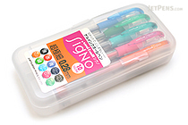 Uni-ball Signo UM-151 Gel Pen - 0.28 mm - 10 Color Set - UNI UM1512810C