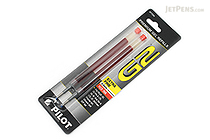 Pilot G2 Gel Pen Refill - 0.5 mm - Red - Pack of 2 - PILOT BG25RRED-6PK